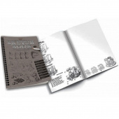 "Скетчбук DankoToys SB-01-01 ""Sketch book"", рос"